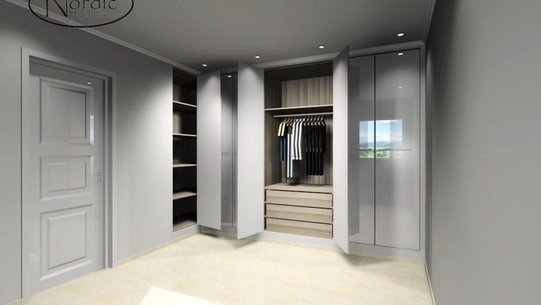 3D Design - Wardrobes 1-5 - Nordic Muebles